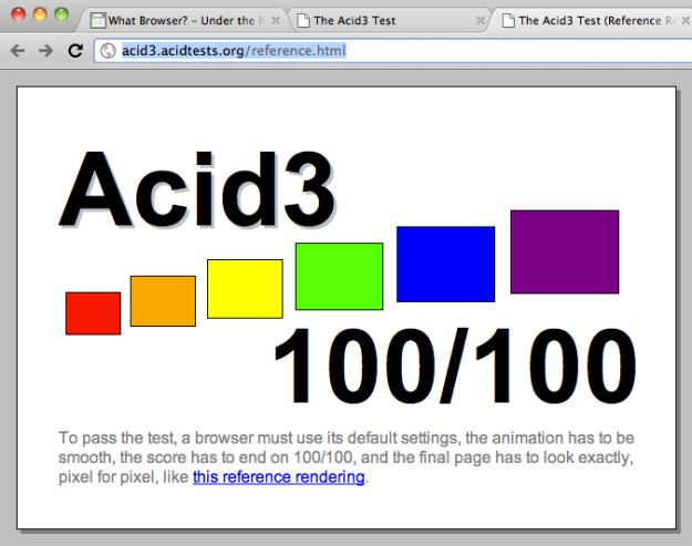 Acid test 3 - reference rendering