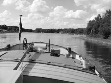 Bateau Jean Bart en navigation, Péniche Jean Bart, ASBL Sémaphore