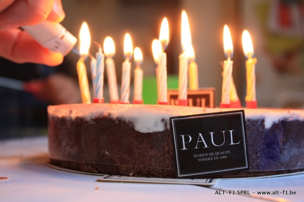Birthday cake - I am 37 - boulangerie paul