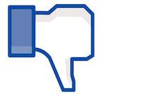 dislike - facebook button
