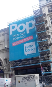 Pop-up store Hello Bank